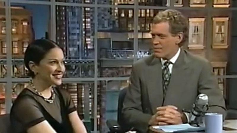 20 Classic 'Late Show' Moments We're Glad We Stayed Up For: His infamous 1994 interview with Madonna