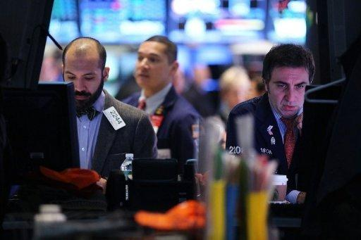 Apple's plunge hits Nasdaq, but Dow ends higher