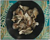 """This quick preparation really showcases the gentle flavor of oyster mushrooms. The mild dish is brightened with a small amount of cider vinegar. <a href=""""https://www.epicurious.com/recipes/food/views/sauteed-oyster-mushrooms-351872?mbid=synd_yahoo_rss"""" rel=""""nofollow noopener"""" target=""""_blank"""" data-ylk=""""slk:See recipe."""" class=""""link rapid-noclick-resp"""">See recipe.</a>"""