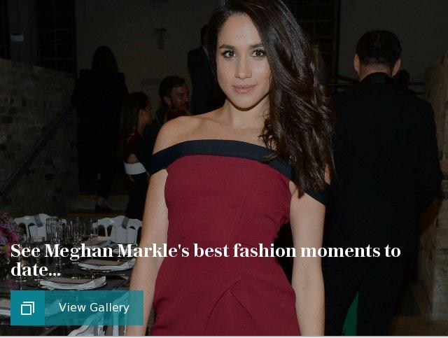 Meghan Markle best fashion looks