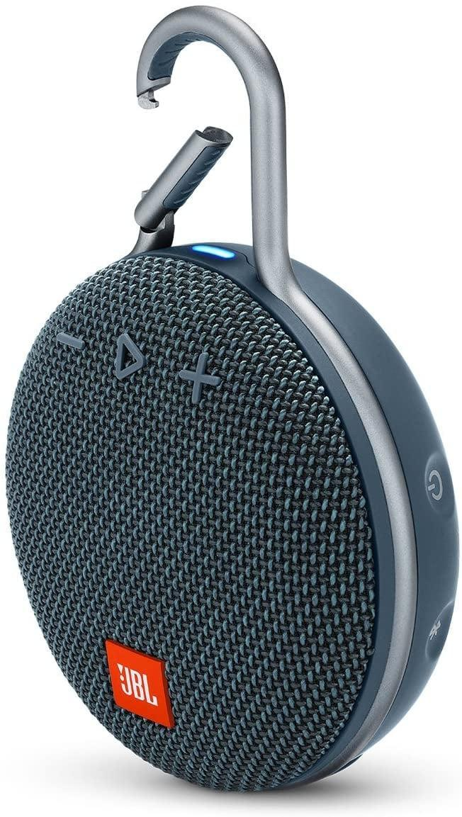"""<p>If you get tired of singing campfire songs, let the <a href=""""https://www.popsugar.com/buy/JBL-Portable-Bluetooth-Speaker-574574?p_name=JBL%20Portable%20Bluetooth%20Speaker&retailer=amazon.com&pid=574574&price=50&evar1=moms%3Aus&evar9=47479532&evar98=https%3A%2F%2Fwww.popsugar.com%2Fphoto-gallery%2F47479532%2Fimage%2F47479543%2FJBL-Portable-Bluetooth-Speaker&list1=camping%2Ckid%20activities%2Ckid%20shopping%2Cparent%20shopping%2Cstaying%20home&prop13=api&pdata=1"""" class=""""link rapid-noclick-resp"""" rel=""""nofollow noopener"""" target=""""_blank"""" data-ylk=""""slk:JBL Portable Bluetooth Speaker"""">JBL Portable Bluetooth Speaker</a> ($50, originally $70) take over. With 10 hours of play time and a carabiner that easily hooks to your tent, you can stream music from your phone into the wee hours of the night.</p>"""