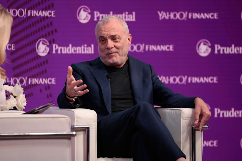 NEW YORK, NY - OCTOBER 25: Aetna Chairman & CEO Mark Bertolini speaks onstage at the Yahoo Finance All Markets Summit on October 25, 2017 in New York City. (Photo by Cindy Ord/Getty Images for Yahoo)