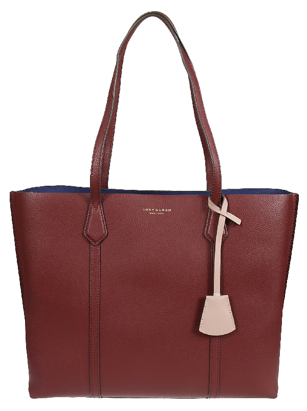 Tory Burch Perry Triple-compartment Tote Bag In Tinto | ModeSens