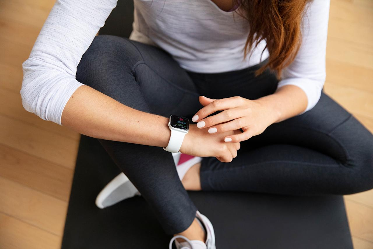 """<p>You'll start this week with a rest day. To have an active rest day, <a href=""""https://www.popsugar.com/fitness/Yoga-Sequence-Stress-24469495"""" class=""""ga-track"""" data-ga-category=""""Related"""" data-ga-label=""""https://www.popsugar.com/fitness/Yoga-Sequence-Stress-24469495"""" data-ga-action=""""In-Line Links"""">try a gentle yoga routine</a> to help your muscles recover and help you de-stress at the same time.</p> <h2>Monday: Rest</h2> <h2>Tuesday: Bodyweight Interval Circuit</h2> <p>Do each move for the length of time listed, resting for 15 seconds between each exercise.</p> <ul> <li> <strong><a href=""""https://www.popsugar.com/fitness/How-Do-Good-Burpee-44500030"""" class=""""ga-track"""" data-ga-category=""""Related"""" data-ga-label=""""https://www.popsugar.com/fitness/How-Do-Good-Burpee-44500030"""" data-ga-action=""""In-Line Links"""">Burpees</a>:</strong> 30 seconds.</li> <li> <strong><a href=""""https://www.popsugar.com/fitness/How-Do-Jump-Squats-994573"""" class=""""ga-track"""" data-ga-category=""""Related"""" data-ga-label=""""https://www.popsugar.com/fitness/How-Do-Jump-Squats-994573"""" data-ga-action=""""In-Line Links"""">Squat jumps</a>:</strong> 45 seconds.</li> <li> <strong><a href=""""https://www.popsugar.com/fitness/How-Do-V-Ups-43607041"""" class=""""ga-track"""" data-ga-category=""""Related"""" data-ga-label=""""https://www.popsugar.com/fitness/How-Do-V-Ups-43607041"""" data-ga-action=""""In-Line Links"""">V-ups</a>:</strong> 45 seconds.</li> <li> <strong><a href=""""https://www.popsugar.com/fitness/Most-Common-Exercises-43957727"""" class=""""ga-track"""" data-ga-category=""""Related"""" data-ga-label=""""https://www.popsugar.com/fitness/Most-Common-Exercises-43957727"""" data-ga-action=""""In-Line Links"""">Sit-ups</a>:</strong> 30 seconds.</li> <li> <strong><a href=""""https://www.popsugar.com/fitness/How-Do-Bicycle-Crunches-958400"""" class=""""ga-track"""" data-ga-category=""""Related"""" data-ga-label=""""https://www.popsugar.com/fitness/How-Do-Bicycle-Crunches-958400"""" data-ga-action=""""In-Line Links"""">Bicycle crunches</a>:</strong> 30 seconds.</li> <li> <strong><a href=""""https://www.popsugar.com"""