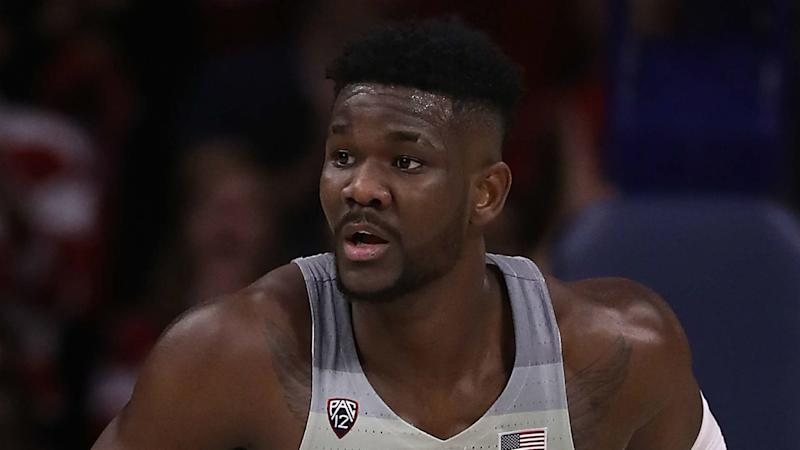 Deandre Ayton declares for the NBA Draft after 1 season with Arizona