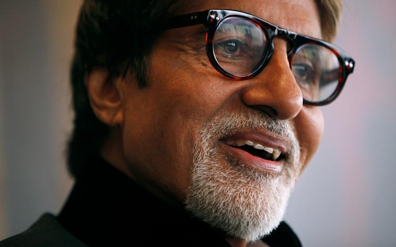 Indian actor Amitabh Bachchan - REUTERS/Tyrone Siu/File Photo