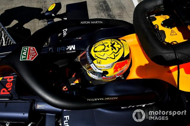 "Max Verstappen, Red Bull Racing RB15 <span class=""copyright"">Mark Sutton / Motorsport Images</span>"