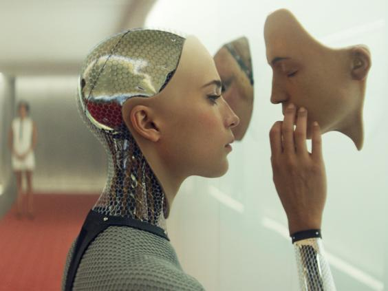 In 'Ex Machina', 2015 (Universal Pictures)