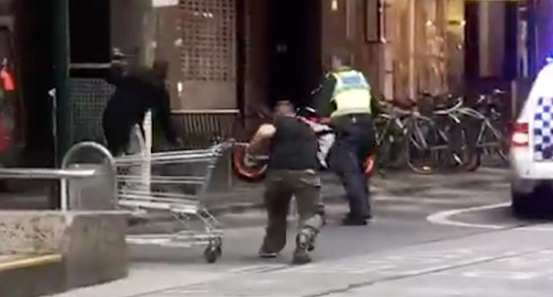 Australia: Cash pours in for homeless man who fought Melbourne attacker