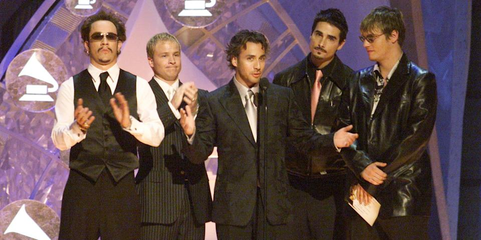 backstreet boys grammys