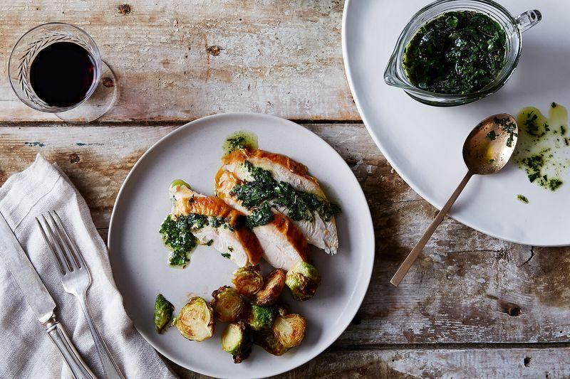 Cal Peternell's Fried Herb Salsa