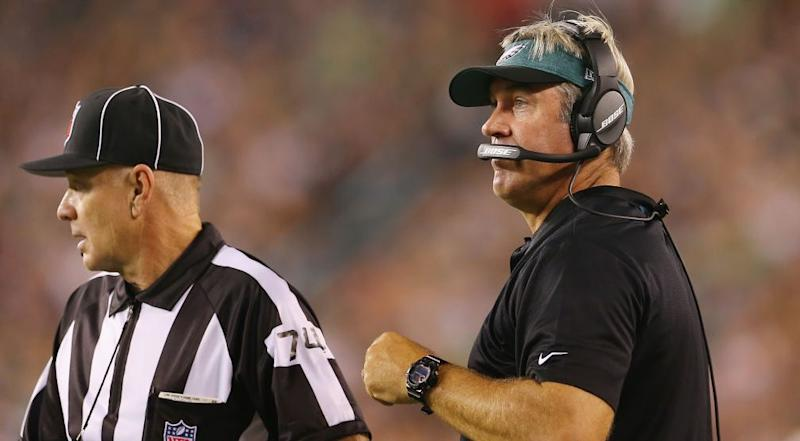 eagles say ref assessed penalty on them that was actually on falcons