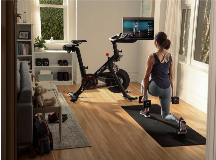 Peloton's new Bike+ has some key upgrades such as a rotating screen.