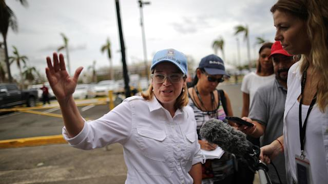 WASHINGTON ― Top associates of President Donald Trump on Sunday joined his new campaign against the mayor of Puerto Rico's capital city, San Juan, over her appeals for quicker federal help following Hurricane Maria.