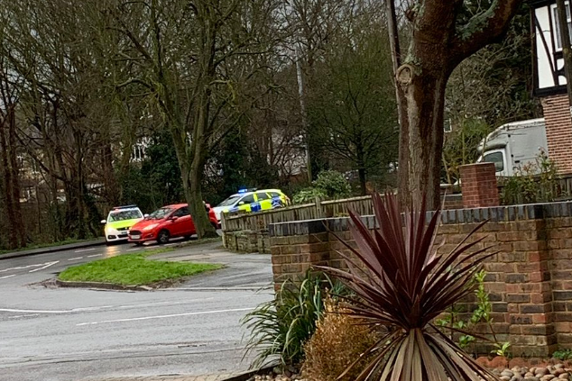 The victim was stabbed just yards from Meadow Primary School (James McKenzie)