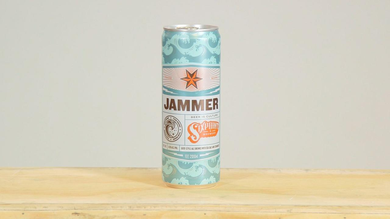 <p>Jammer was the most fun beer we tasted. WTF does fun beer taste like? Pleasantly surprising. Over a backbone of wheat was a bright, fruity, and sour character, but you weren't sure what you'd taste next. Try the 15-can Jammer Session Pack, which also includes berry, citrus, ruby, and tropical variations. <strong>Calories: </strong>125, <strong>ABV: </strong>4.0%</p>