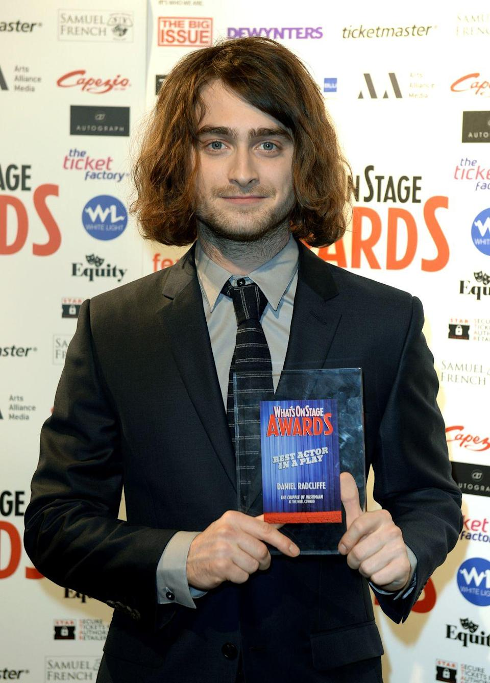 <p>If you weren't a fan of Daniel Radcliffe's shaggy bob in 2014, lucky for you it wasn't permanent. The actor was only growing his hair out for the film <em>Escape from Pretoria</em>. </p>