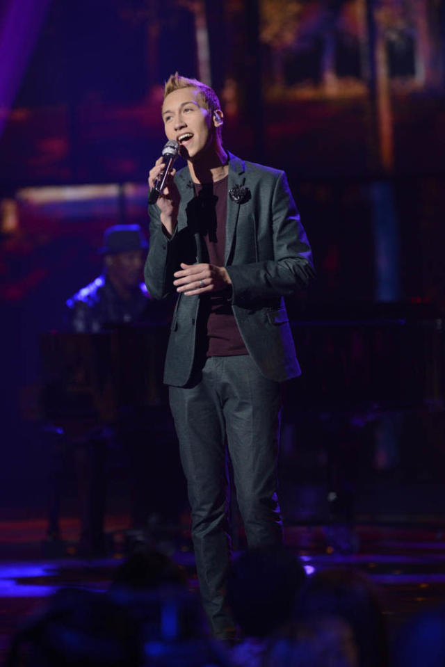 "Devin Velez performs The Beatles' ""The Long and Winding Road"" on the Wednesday, March 20 episode of ""American Idol."""