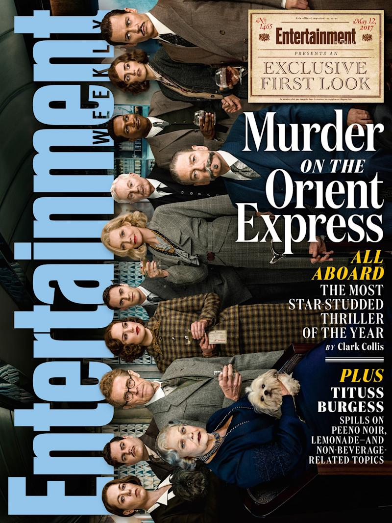 Entertainment Weekly's cover in full (credit: 20th Century Fox/Entertainment Weekly)