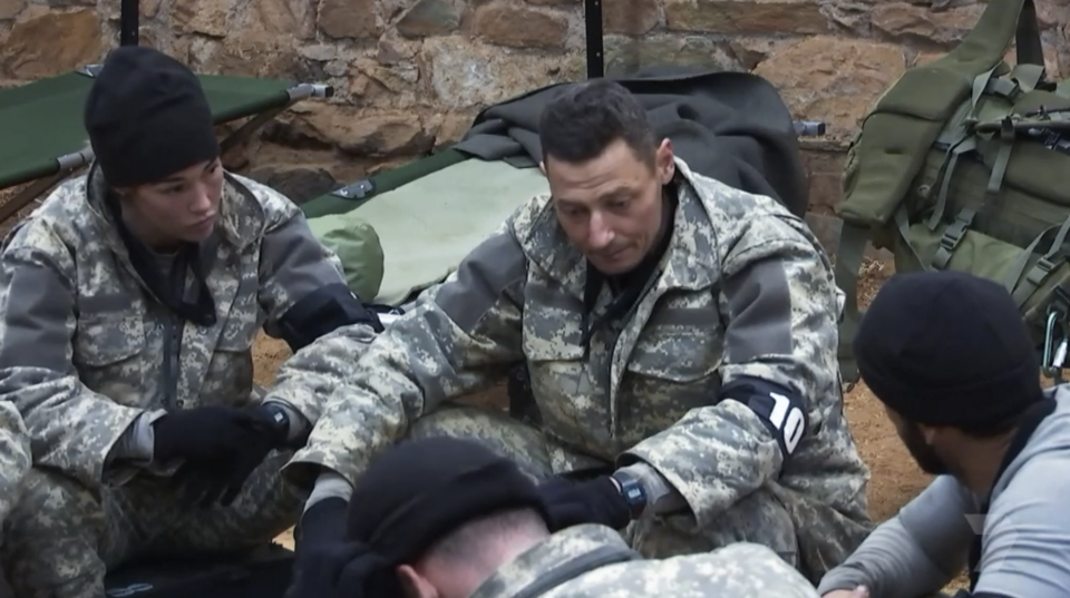 The SAS recruits attempted to force Firass to quit the show. Photo: Seven