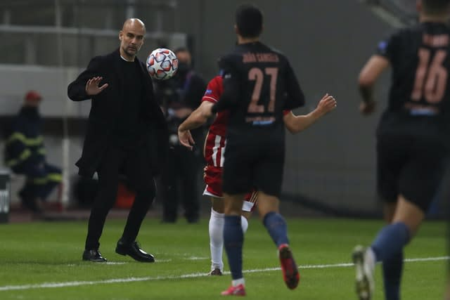 Pep Guardiola is confident his team will start scoring more goals