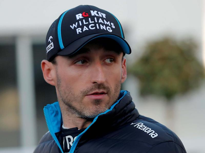 Robert Kubica has joined Alfa Romeo for the 2020 season: REUTERS