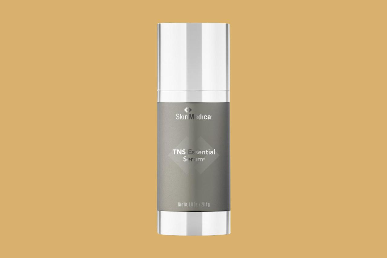 "<p>This one contains a powerhouse cocktail of ingredients&mdash;amino acids, peptides, and antioxidants&mdash;to dramatically reverse the signs of aging and slow down the process in the future. (It's been winning beauty awards&mdash;and has been a beauty-insider favorite&mdash;for years!)<em>&nbsp;</em></p><p><em><strong>Shop Now: </strong>SkinMedica TNS Essential Serum, $281, <a href=""https://www.amazon.com/SkinMedica-TNS-Essential-Serum-oz/dp/B001QTLNK0/ref=as_li_ss_tl?ie=UTF8&amp;linkCode=ll1&amp;tag=mslbeubestantiagingserumsesoct19-20&amp;linkId=fe46cedcd327f7238568c5da3b7bb535&amp;language=en_US"">amazon.com</a>.</em></p>"
