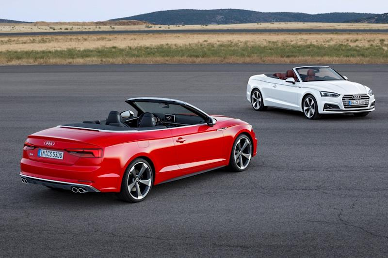 Audi completes its A5 trilogy with redesigned Cabriolet convertible