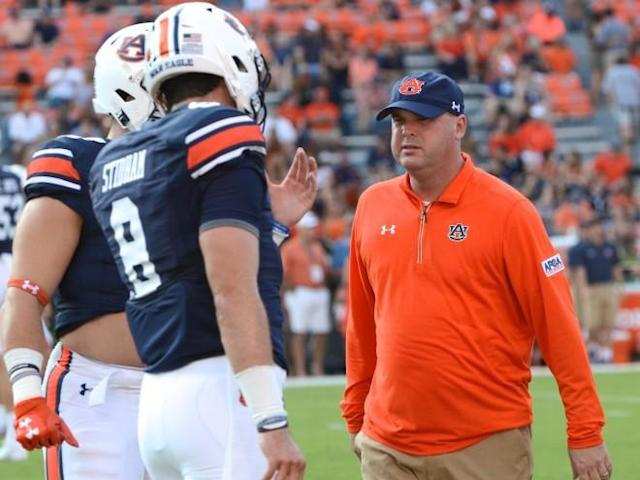 OC Chip Lindsey, a former offensive analyst at Auburn, was hired from Arizona State after the 2016 season. (Auburn Sports)