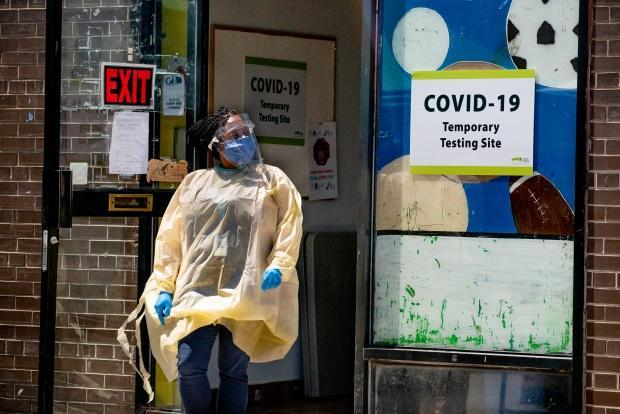 The seven-day average of daily COVID-19 cases in Ontario stands at 621. (Craig Chivers/CBC - image credit)