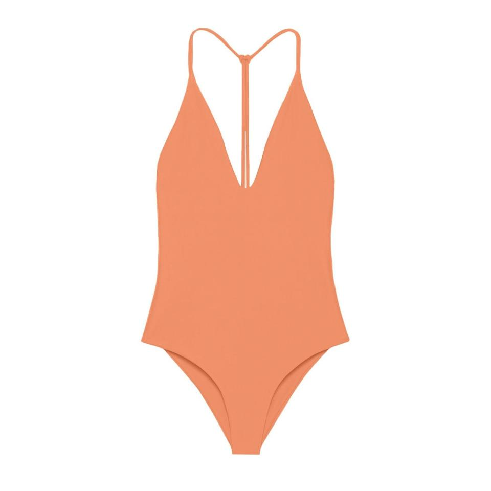 "<h2>Jade Swim<br></h2><br>A majority of Jade Swim's collections are created from 100% regenerated nylon, <a href=""https://www.oeko-tex.com/en/our-standards/standard-100-by-oeko-tex"" rel=""nofollow noopener"" target=""_blank"" data-ylk=""slk:Oeko-Tex certified"" class=""link rapid-noclick-resp"">Oeko-Tex certified</a> fabrics, and are packaged in 100% recycled plastic and biodegradable shipping bags. Former fashion stylist and editor, <a href=""https://jadeswim.com/pages/about"" rel=""nofollow noopener"" target=""_blank"" data-ylk=""slk:Brittany Kozerski"" class=""link rapid-noclick-resp"">Brittany Kozerski</a> runs Jade Swim on both minimalist designs and minimal waste practices. <br><br><em>Shop</em> <strong><em><a href=""http://jadeswim.com"" rel=""nofollow noopener"" target=""_blank"" data-ylk=""slk:Jade Swim"" class=""link rapid-noclick-resp"">Jade Swim</a></em></strong><br><br><strong>Jade Swim</strong> All In One Piece, $, available at <a href=""https://go.skimresources.com/?id=30283X879131&url=https%3A%2F%2Fjadeswim.com%2Fcollections%2Fall%2Fproducts%2Fall-in-one-piece"" rel=""nofollow noopener"" target=""_blank"" data-ylk=""slk:Jade Swim"" class=""link rapid-noclick-resp"">Jade Swim</a>"