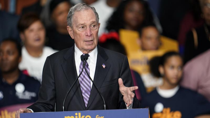 Democratic hopefuls step up attacks to halt rise of Bloomberg