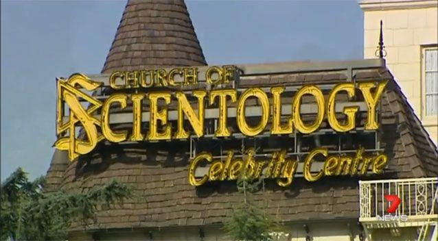The Church of Scientology Celebrity Centre. Photo: 7 News