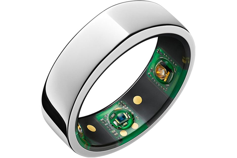 """$300, Oura. <a href=""""https://ouraring.com/product/balance-silver"""" rel=""""nofollow noopener"""" target=""""_blank"""" data-ylk=""""slk:Get it now!"""" class=""""link rapid-noclick-resp"""">Get it now!</a>"""