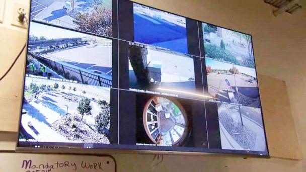 PHOTO: The Jefferson County ballot drop box security hub has 35 cameras monitor every ballot drop box in the county. (ABC News)