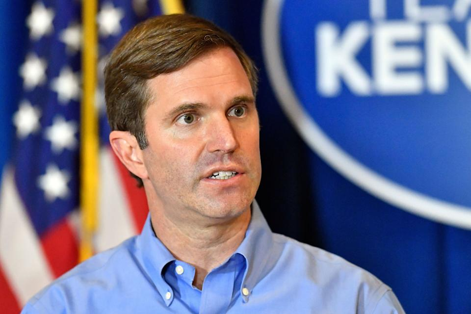 Kentucky Republicans are hoping to pass legislation as soon as this week that would limit the executive powers Gov. Andy Beshear, a Democrat, has wielded to slow the spread of COVID-19 in the Bluegrass State. (Photo: (AP Photo/Timothy D. Easley))