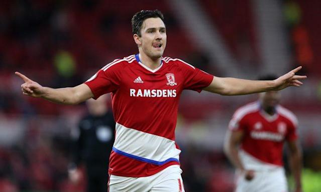 Middlesbrough midfielder Stewart Downing
