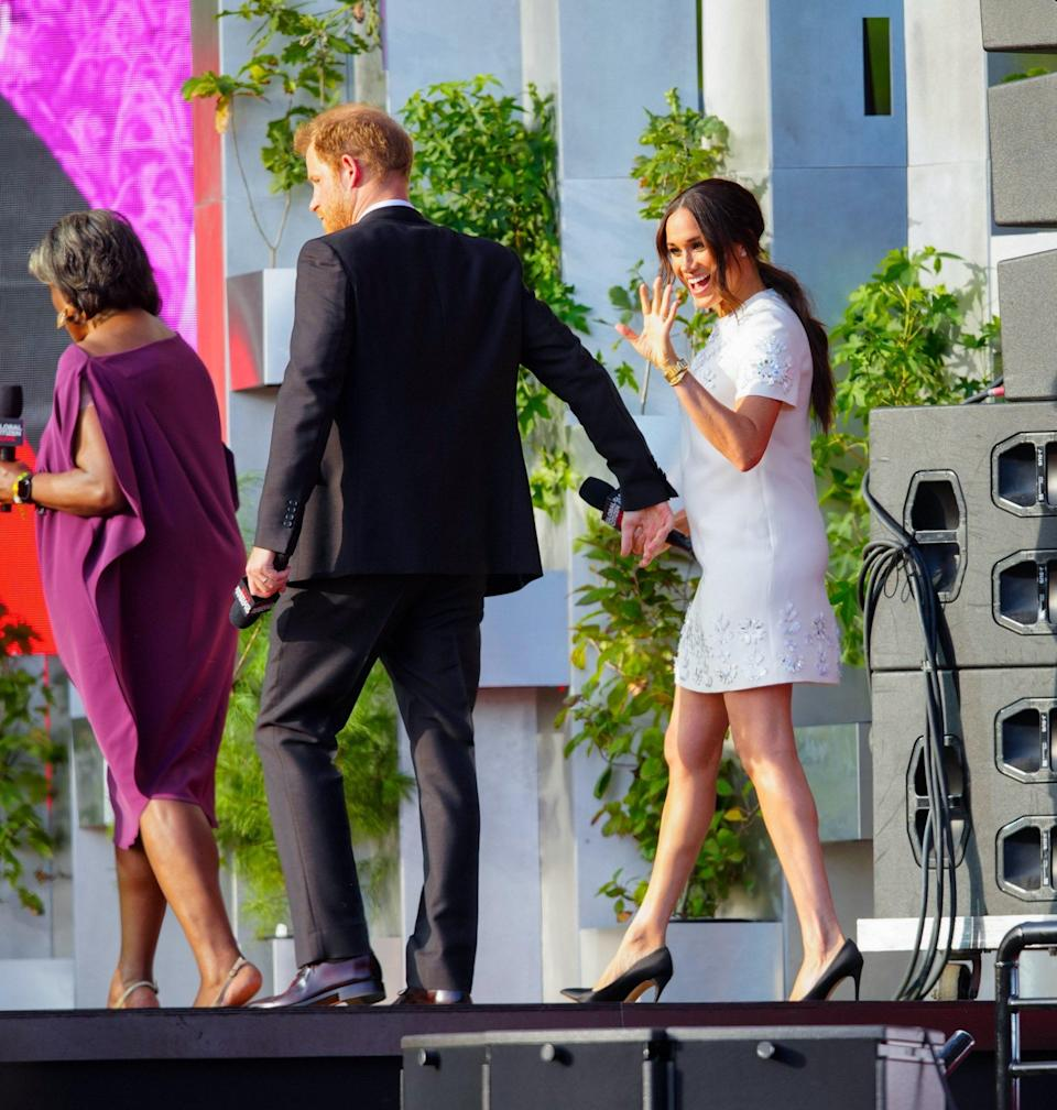 Meghan and Harry - Wireimage