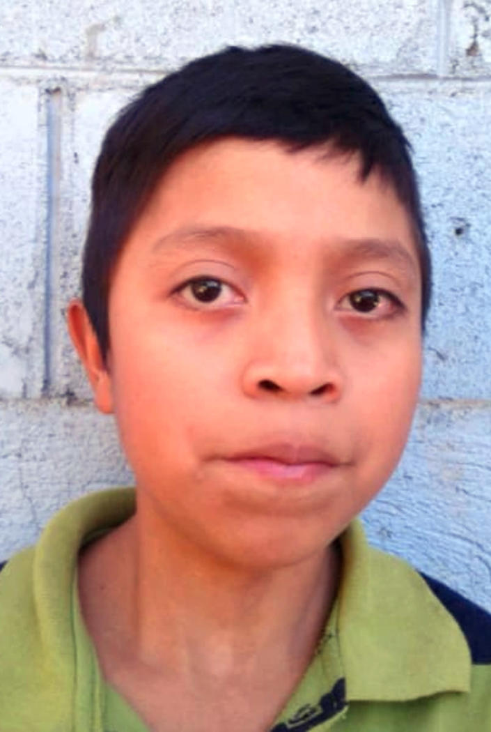 In this March 2017 photo released by Jimmy Cristian Gutierrez Garcia, the teacher of child migrant Juan de Leon Gutierrez, Juan poses for his school portrait in El Tesoro village, Camotan, Guatemala. The 16-year-old died on April 30, 2019, after officials at a South Texas youth detention facility noticed he was sick, becoming the third Guatemalan child to die in U.S. custody since December. (Jimmy Cristian Gutierrez Garcia via AP)