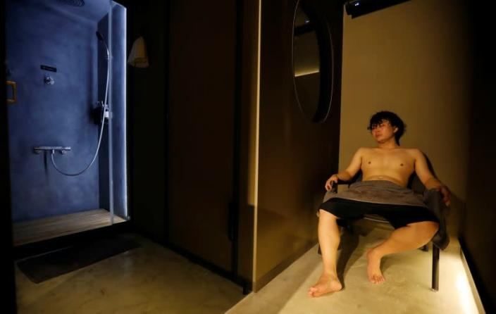 Japanese sauna offering private Finnish-style rooms gains popularity amid COVID
