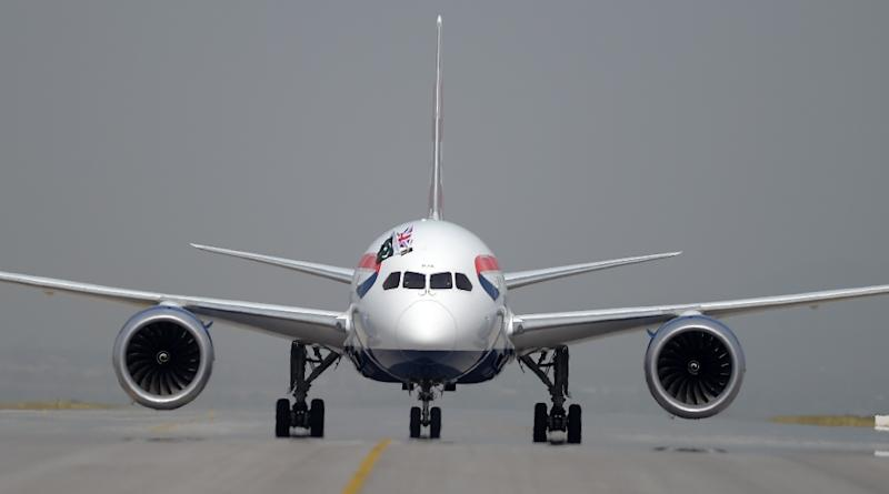 The aviation industry is under pressure to reduce emissions (AFP Photo/AAMIR QURESHI)