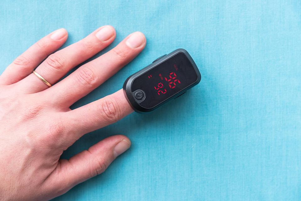 Pulse oximeters are flying off the shelves. (Photo: Getty)