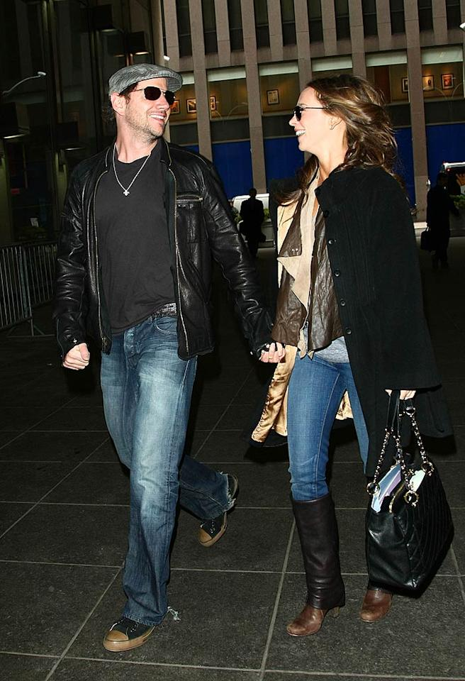 """Although some might call them an odd couple, they definitely look like they're in love! Jackson Lee/<a href=""""http://www.splashnewsonline.com/"""" target=""""new"""">Splash News</a> -April 7, 2009"""