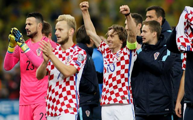 Here we take a look at Croatia's World Cup squad and the other things it will be handy to know. Croatia's preliminary World Cup squad - the 23 names Goalkeepers: Danijel Subasic (Monaco), Lovre Kalinic (Gent), Dominik Livakovic (Dinamo Zagreb) Defenders: Vedran Corluka (Lokomotiv Moscow), Domagoj Vida (Besiktas), Ivan Strinic (Sampdoria), Dejan Lovren (Liverpool), Sime Vrsaljko (Atletico Madrid), Josip Pivaric (Dynamo Kiev), Tin Jedvaj (Bayer Leverkusen), Duje Caleta-Car (Red Bull Salzburg) Midfielders: Luka Modric (Real Madrid), Ivan Rakitic (Barcelona), Mateo Kovacic (Real Madrid), Milan Badelj (Fiorentina), Marcelo Brozovic (Inter Milan), Filip Bradaric (Rijeka) Forwards: Mario Mandzukic (Juventus), Ivan Perisic (Inter Milan), Nikola Kalinic (AC Milan), Andrej Kramaric (Hoffenheim), Marko Pjaca (Schalke), Ante Rebic (Eintracht Frankfurt) Croatia supporters wave their colours Credit: afp Croatia's World Cup 2018 fixtures Nigeria: Saturday, June 16 at 8pm Argentina: Thursday, June 21 at 7pm Iceland: Tuesday, June 26 at 7pm Croatia's World Cup record World Cup record: Nigeria What odds are Croatia to win the World Cup? 33/1 The kits See where Croatia's shirts ends up in our ranking of all 64 World Cup shirts below: World Cup kits ranked Who's the coach? Unheralded Zlatko Dalić was parachuted in from UAE club football amid a stuttering qualification campaign and delivered play-off passage. Who's the star? Real Madrid's Luka Modric is a beautiful midfielder whose vision, passing and ability to prompt teammates is as good as it gets. Best thing about them Quality and experience all over the pitch, from 104-cap Modric to 90-cap Ivan Rakitić, the Barcelona midfielder, and powerful forward Mario Mandzukic of Juventus. Full 2018 World Cup squad lists and guides | Star to watch, odds, fans' chants and more Worst thing about them First XI looks a serious outfit but is not the youngest and there's a gulf in quality to the squad players. You may recognise... Dejan Lovren has markedly improved since Liverpool signed Virgil van Dijk alongside him at centre-half but remains a candidate for a big-match howler. Cameramen will be picking out... Fans in their splendid red-and-white cheesecloth, singing Europop. Croatia fans have an unusually large appetite for official team songs. World Cup 2018 | All you need to know Fans' favourite chant Hopefully nothing racist; Croatia have quite a bit of previous for this. On-field prediction Runners-up spot in group to precede narrow last-16 defeat by France. Off-field prediction Hopefully boisterous behaviour rather than beastly. WorldCup - newsletter promo - end of article