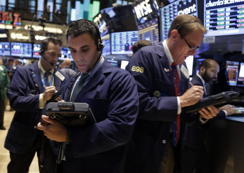 Traders work on the floor of the New York Stock Exchange Monday, Sept. 16, 2013. U.S. stocks and bonds are rising sharply in early trading after former Treasury Secretary Larry Summers withdrew from the race to become head of the Federal Reserve. (AP Photo/Richard Drew)