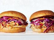 """<p>Habaneros contain more capsaicin (the compound that contributes spicy heat) than jalapeños, but removing the seeds and membranes lessens that heat considerably.</p> <p><a href=""""https://www.myrecipes.com/recipe/habanero-apricot-chicken-sandwiches"""" rel=""""nofollow noopener"""" target=""""_blank"""" data-ylk=""""slk:Habanero-Apricot Chicken Sandwiches Recipe"""" class=""""link rapid-noclick-resp"""">Habanero-Apricot Chicken Sandwiches Recipe</a></p>"""
