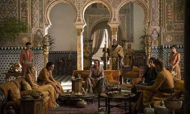 House Martell in Dorne in 'Game of Thrones' (Credit: HBO)