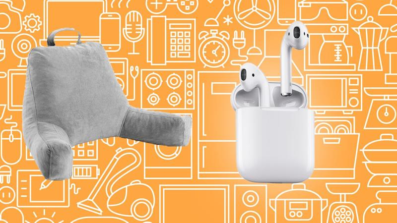 This weekend, save on Airpods, Linenspa weighted blankets and reading pillows, and more.