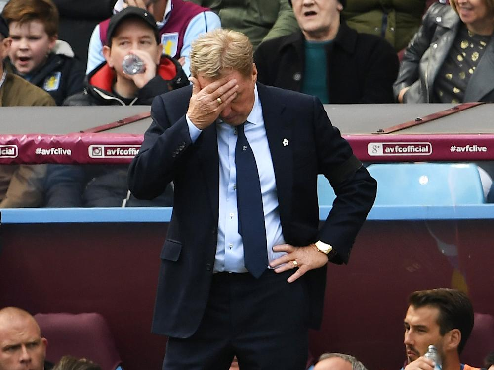 Redknapp got off to the worst possible start: Getty