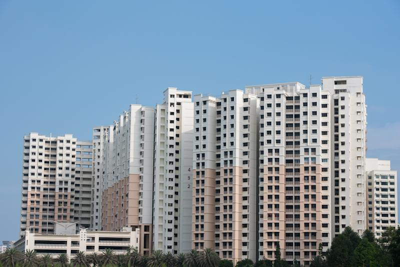 Blocks of HDB flats. (Yahoo News Singapore file photo)
